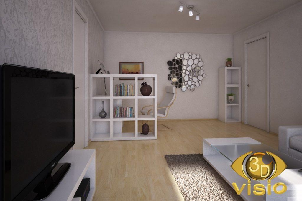 3d моделирование комнаты