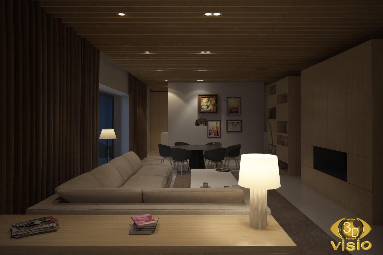 Визуализация ночного освещения