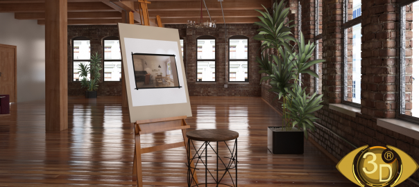 Предметная визуализация стула