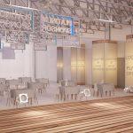 3D-визуализация выставки EUUA, Киев