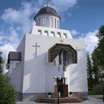 3D визуализация церкви