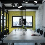 3D визуализация офиса
