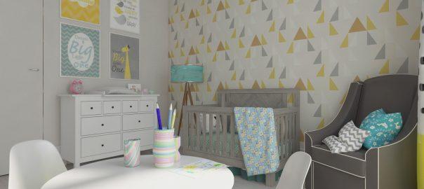 3D Визуализация детской