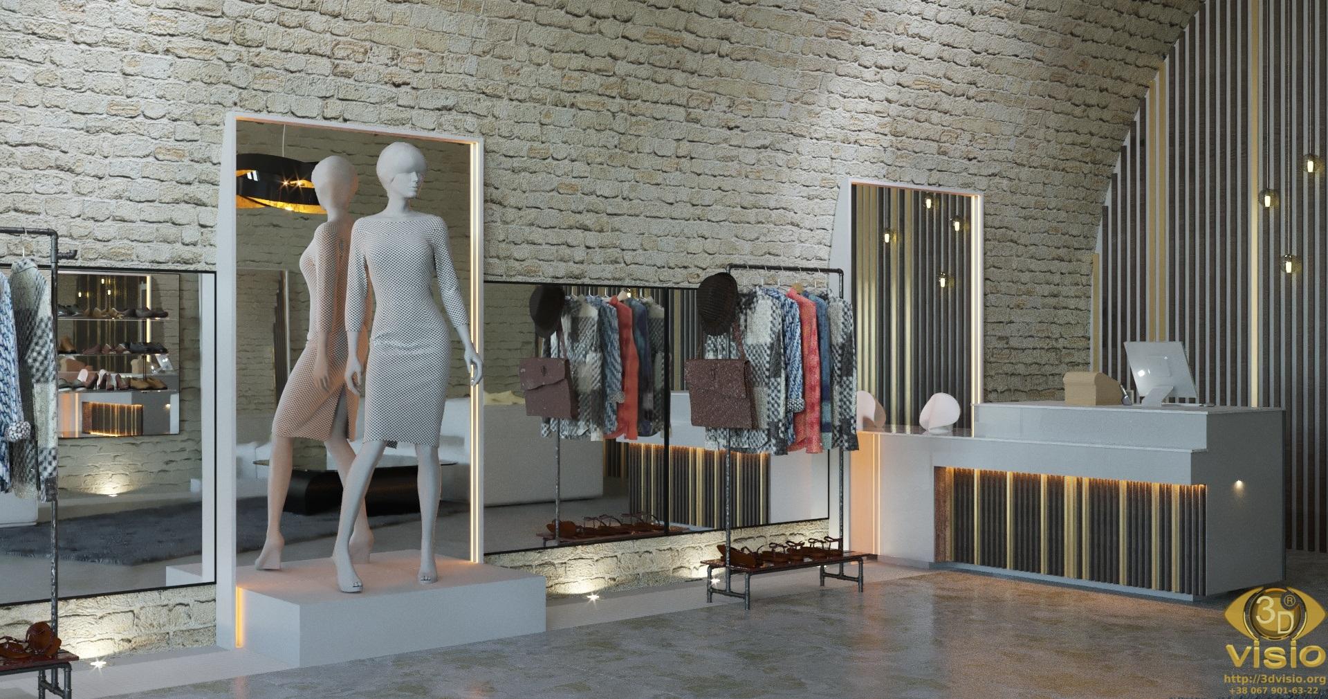 3D Визуализация бутика