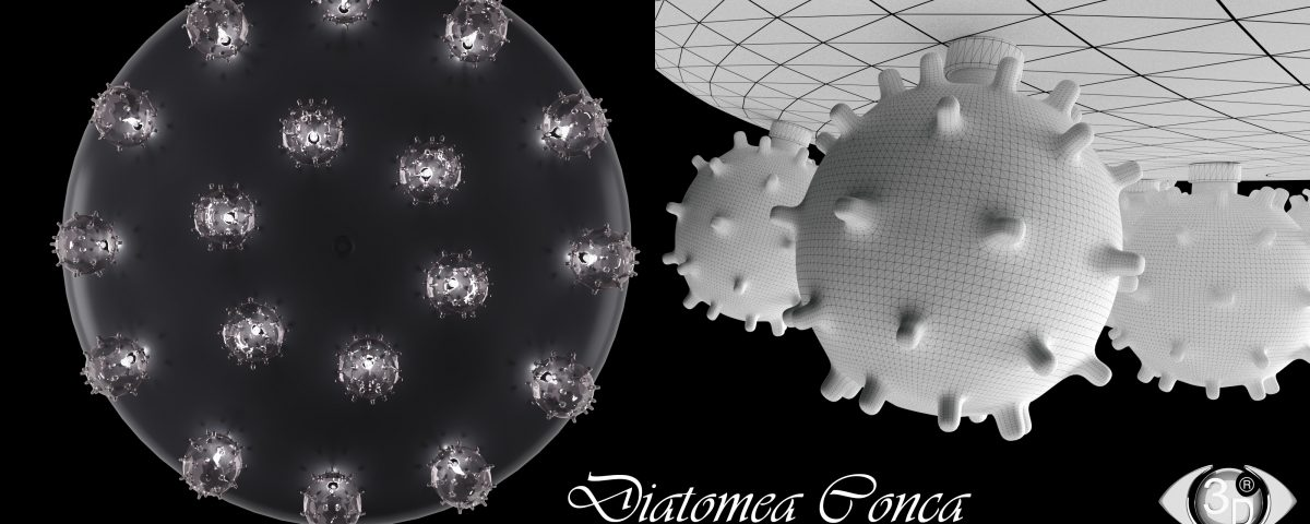 "Люстра ""Diatomea Conca"" фирмы Album"