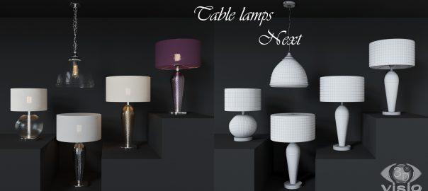 3D-модели ламп