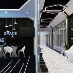 Need More Space или офис в стиле футуризм