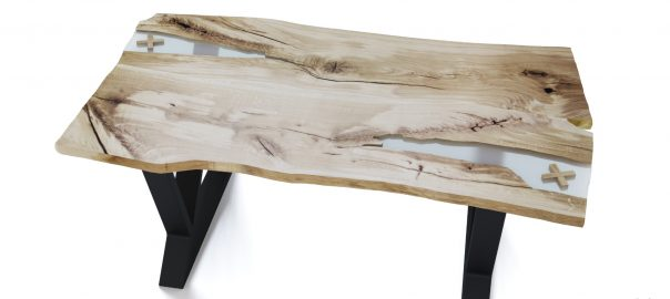 Моделирование объекта: Визуализация стола