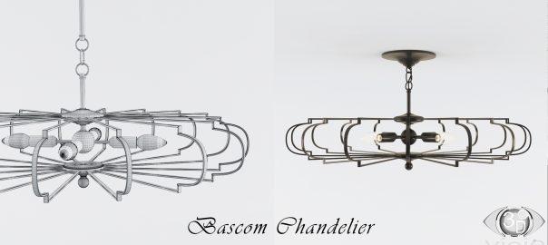 Моделирование объектов: Люстра Bascom