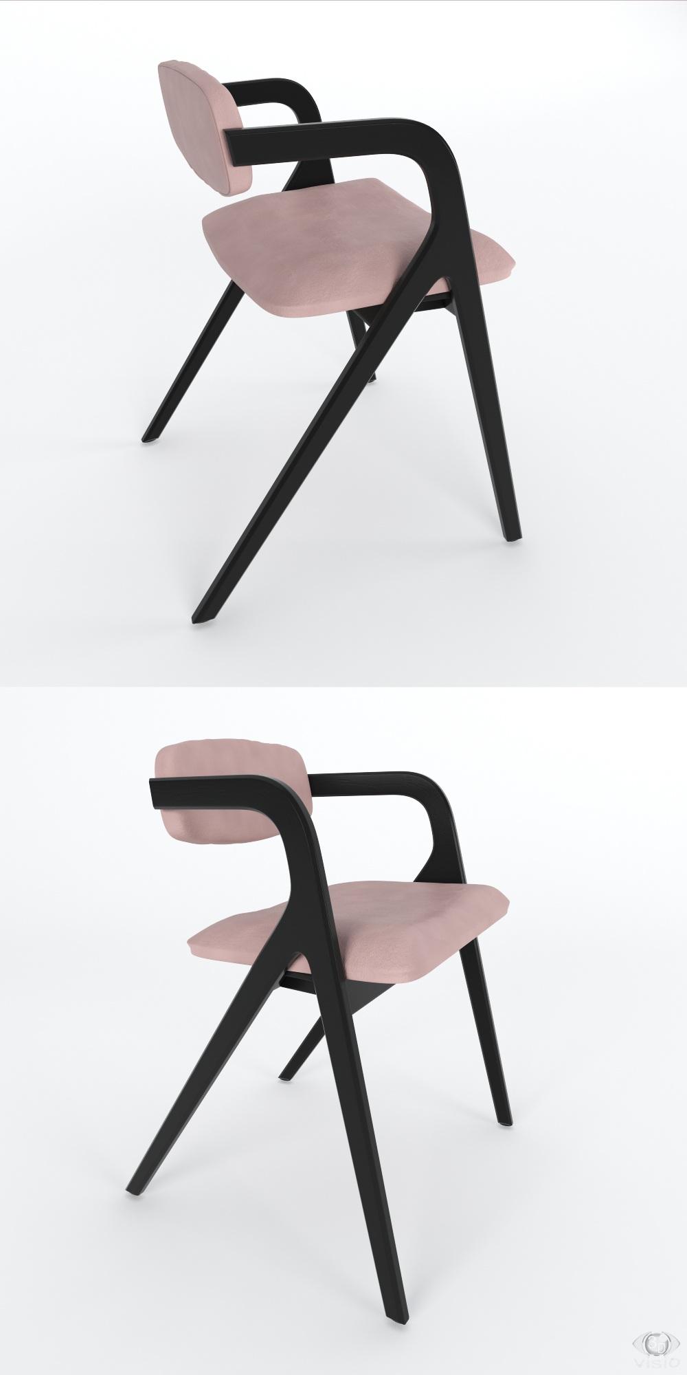 3D-моделирование: Модель Seating Keyko