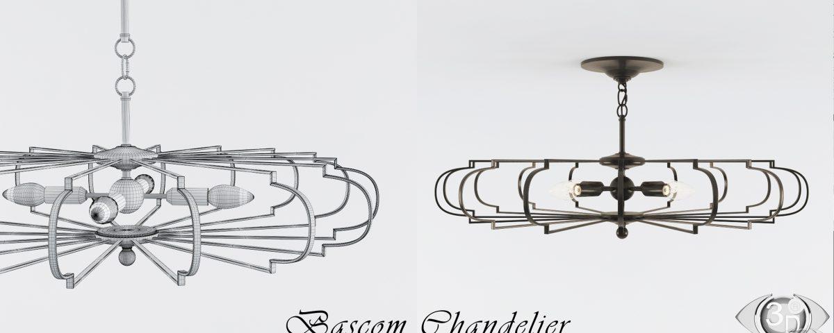 3D-модель: Люстра Bascom