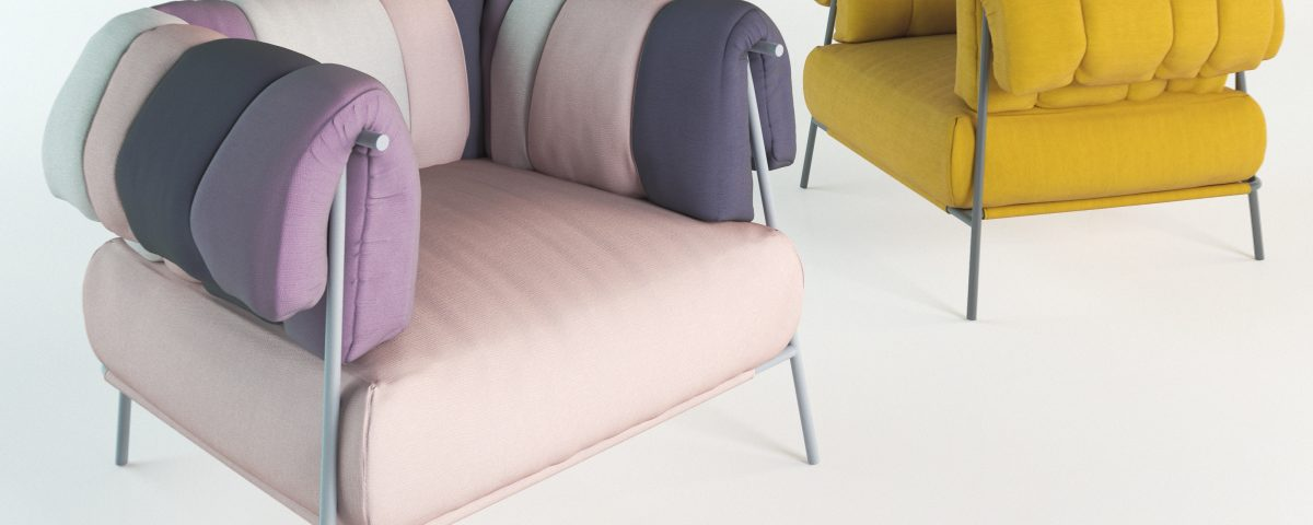 Модель Bonaldo кресло Tirella