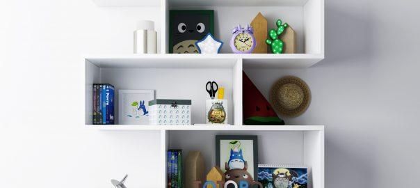 Модель декора в детскую по мотивам мультфильма Тоторо