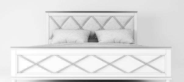 3д модель кровати Ковентри