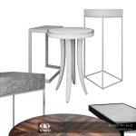 Модель столиков фирмы Uttermost