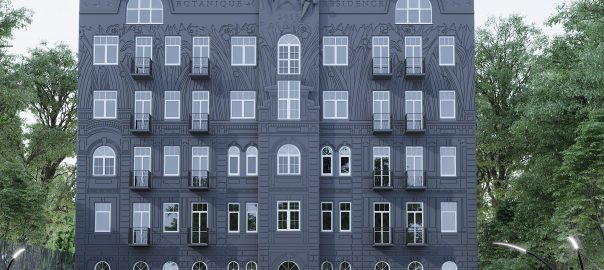 Визуализация Residence Botanique
