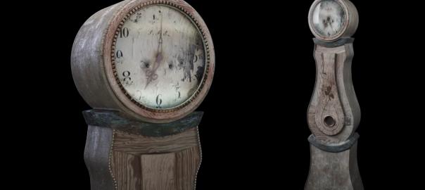3D-объект часов mora