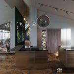 Визуализация 2х уровневых апартаментов Модена. Этаж 2