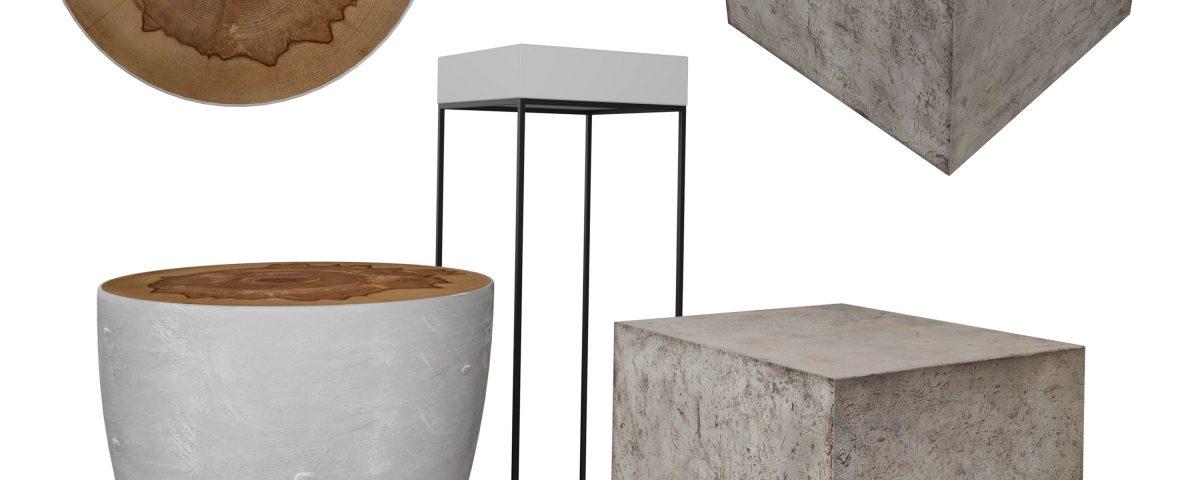 3д моделирование и визуализация столов фирмы Uttermost